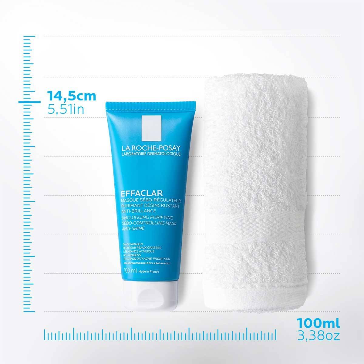 La Roche Posay ProductPage Acne Effaclar Sebo Controlling Mask 100ml 3