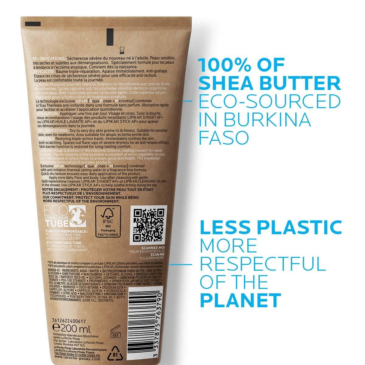 La Roche Posay Eczema Lipikar Baume AP Plus M Eco Conscious Back e-retail