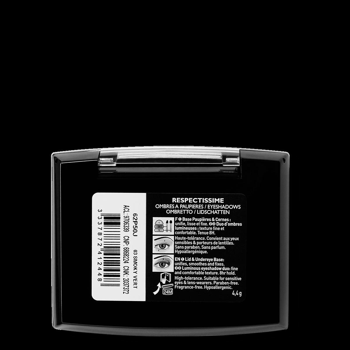 La Roche Posay Sensitive Toleriane Make up EYE_SHADOW_DuoSmokyVert 333